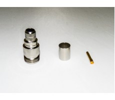 Разъём N-211/5D (N-female, обжимной, на кабель 5D) фото 6