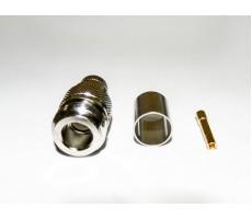 Разъём N-211/5D (N-female, обжимной, на кабель 5D) фото 9