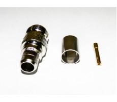 Разъём N-211/5D (N-female, обжимной, на кабель 5D) фото 10
