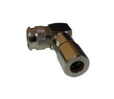 Разъём T-122/5D (TNC-male, прижимной, на кабель 5D) фото 3