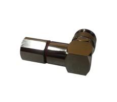 Разъём T-122/5D (TNC-male, прижимной, на кабель 5D) фото 4