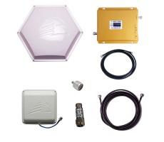 Комплект Baltic Signal для усиления GSM 900 и 3G (до 200 м2) фото 1
