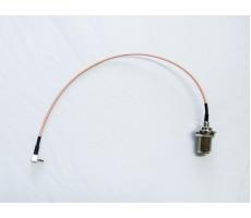 Антенный адаптер (пигтейл) для 3G/4G модемов Huawei (N-female - TS9) фото 2