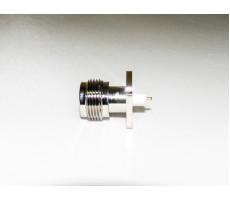 Разъём N-P245 (N-female, корпусной, для приборов) фото 4