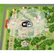 Комплект для мощного WiFi на загородном участке (круг до 100 м.)