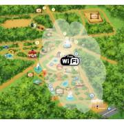 Комплект для мощного WiFi на загородном участке (сектор до 200 м.)