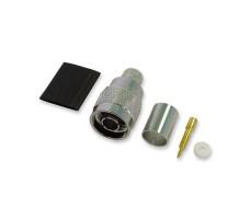 Разъём N-111/10D (N-male, обжимной, на кабель 10D) фото 1