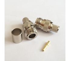 Разъём N-211/5D (N-female, обжимной, на кабель 5D) фото 3