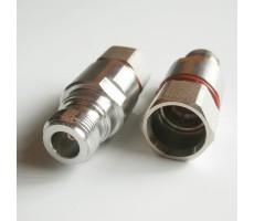 Разъём N-212/10D (N-female, прижимной, на кабель 10D) фото 3