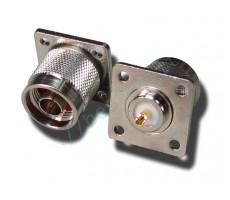 Разъём N-P145 (N-male, корпусной, для приборов) фото 1