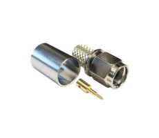 Разъём S-111/5D (SMA-male, обжимной, на кабель 5D) фото 1