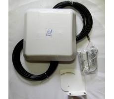 Антенна 3G/4G FLAT Combi MIMO (Панельная, 2 x 13-15 дБ) фото 2