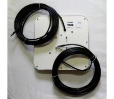 Антенна 3G/4G FLAT Combi MIMO (Панельная, 2 x 13-15 дБ) фото 4