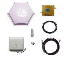 Комплект Baltic Signal для усиления GSM 900 и 1800 (до 200 м2) фото 1