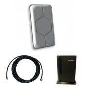 Роутер 3G/4G Huawei E5172 с панельной антенной 3G/4G 17 дБ