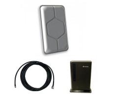 Роутер 3G/4G Huawei E5172 с панельной антенной 3G/4G 17 дБ  фото 1