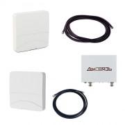 Комплект ДалСвязь DS-900/2100-17 для усиления GSM 900 и 3G (до 200 м2)