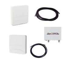 Комплект ДалCвязь DS-900/2100-17 для усиления GSM 900 и 3G (до 200 м2) фото 1