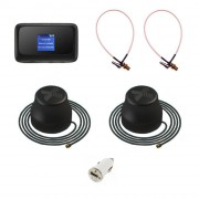 Роутер 3G/4G-WiFi ZTE MF910 с двумя антеннами для авто