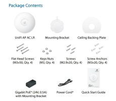 Точка доступа WiFi Ubiquiti UniFi AP AC LR (2.4 + 5.0 ГГц, 250/150 мВт) фото 5