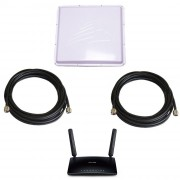 Роутер 3G/4G TP-Link TL-MR6400 с внешней антенной 3G/4G 2x17 дБ