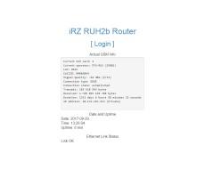 Роутер 3G iRZ RUH2b Dual-Sim, RS232, RS485 фото 7