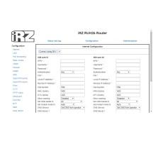 Роутер 3G iRZ RUH2b Dual-Sim, RS232, RS485 фото 9