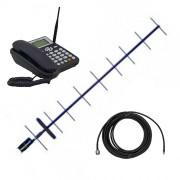 Усилитель мобильной связи на базе телефона Huawei ETS5623 с антенной