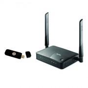 Роутер 3G/4G-WiFi Zyxel Keenetic Omni II + совместимый модем