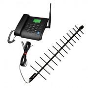 Стационарный сотовый телефон Dadget MT3020B с выносной антенной и 10 м. кабеля