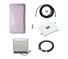 Комплект Baltic Signal для усиления GSM/LTE 1800 и 3G (до 200 м2) фото 1