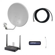 Комплект 3G/4G Дача-Про (Роутер WiFi, модем, кабель 5м, антенна 3G/4G 22 дБ)
