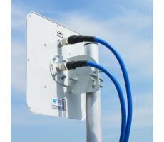 Антенна LTE1800/3G AX-2014P MIMO (Панельная, 2 x 14 дБ) фото 8