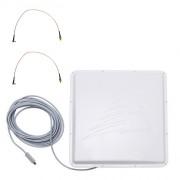 Антенна OMEGA 3G/4G MIMO USB BOX (Панельная, 2 x 16-18 дБ, USB 10 м., 2xUFL (IPX))