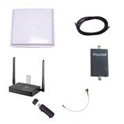 Комплект Дальняя Дача (Роутер 3G-WiFi с внешней 3G-антенной 20 дБ и активным 3G-усилителем ТАУ-2000)