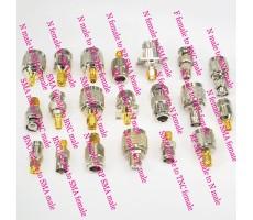 Комплект из 20-ти переходников N, SMA, RP-SMA, BNC, F фото 6