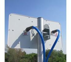 Антенна WiFi AX-5520P MIMO (Панельная, 2 x 20 дБ) фото 10