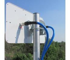 Антенна WiFi AX-5520P MIMO (Панельная, 2 x 20 дБ) фото 13