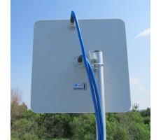 Антенна WiFi AX-2420P MIMO 2x2 (Панельная, 2 х 20 дБ) фото 7