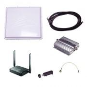 Комплект Дальняя Дача (Роутер 3G-WiFi с внешней 3G-антенной 20 дБ и активным 3G-усилителем BS-3G-20)