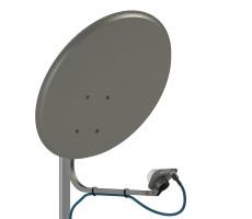 Облучатель WiFi AX-5500 OFFSET (5 ГГц) фото 1