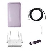 Комплект 3G Дача-Стандарт (Роутер WiFi, модем, кабель 5 м, антенна 3G 17 дБ)