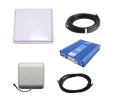 Репитер сотовой связи и интернет Baltic Signal BS-DCS/3G-80 PRO (комплект до 1200 м2) фото 1