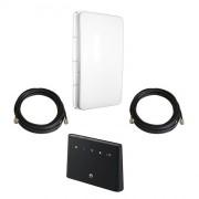 Роутер 3G/4G Huawei B310 с панельной антенной 3G/4G 2x15 дБ