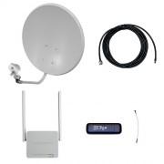 Комплект усиления 3G/4G на дачу Про (Роутер WiFi, модем, кабель 5м, антенна 3G/4G 22 дБ)