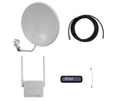 Комплект 3G/4G Дача-Про (Роутер WiFi, модем, кабель 5м, антенна 3G/4G 22 дБ) фото 1