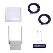 Комплект 3G/4G Дача-Максимум 2x2 (Роутер WiFi, модем, кабель 2х5м, антенна 3G/4G 2x20 дБ)
