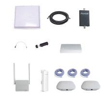 Усилитель интернет сигнала 3G для дома и участка (Антенна 3G, кабель, усилитель 3G, модем, роутер, точки доступа WiFi) фото 1