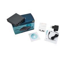 Коммутатор TP-Link TL-SG105E V3 (5 x 1000 Mbps) фото 4