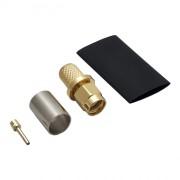 Разъём S-A111/5D (SMA-RP-male, обжимной, на кабель 5D, реверсный)